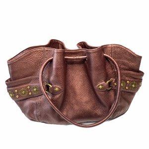 Cole Haan ❤︎ Village Paillette Leather Handbag ❤︎
